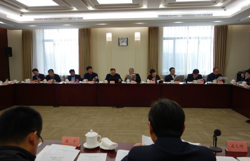 山东代表团热议中共十九大精神和民盟十二大工作报告
