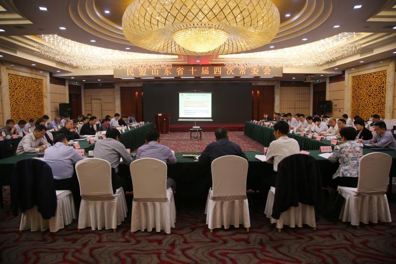 民盟山东省十届四次常委会议在济南召开