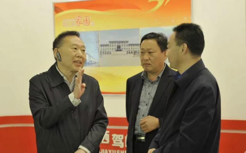 """王修林主委带队检查""""七五""""普法依法治理工作"""