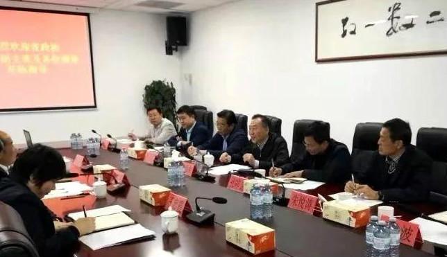 王修林主委到青岛市调研联系服务的经济组织