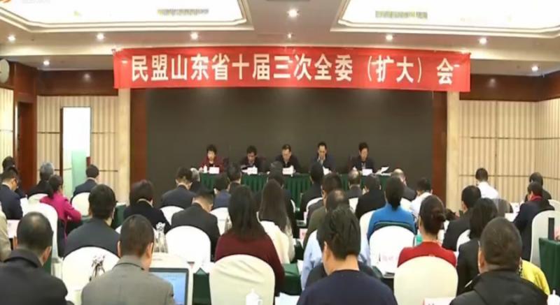 民盟山东省十届三次全委(扩大)会议在济南召开