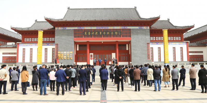 民盟山东省委赴乐陵举行传统教育基地揭牌仪式