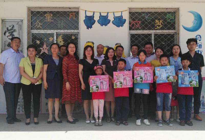 民盟山东省委女盟员委员会赴聊城开展六一儿童节慰问活动